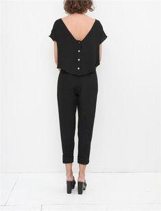 Rachel Comey Paloma Jumpsuit- Black