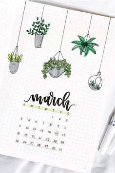 Best Cactus & Succulent Themed Bullet Journal Ideas - Crazy Laura - - If you're looking to change up the theme in your bullet journal, you need to check out these super fun cactus and succulent spread ideas for inspiration! Bullet Journal Paper, March Bullet Journal, Bullet Journal Cover Ideas, Bullet Journal Lettering Ideas, Bullet Journal Notebook, Bullet Journal School, Bullet Journal Ideas Pages, Bullet Journal Inspiration, Art Journal Pages