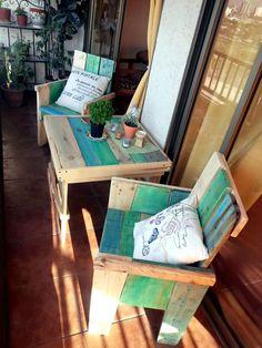 Pallet Furniture for Balcony / Garden / Terrace   99 #Pallets