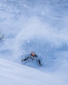 """""""What do you know it is snowing again"""". After 5 seasons in Japan we say that pretty much every day. This is the place that dreams of snow come true.  #SASSJapan #JAPANuary #Japow #GetsomeSASS #Skiing #Snowboarding #Backcountry #powfordays #pillows #earnyourturns    by @lucasmoorephoto"""