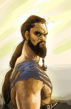 Khal Drago by Anthony Diecidue