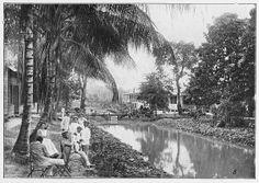 Het nieuwe gedeelte van leprakolonie Bethesda, Suriname