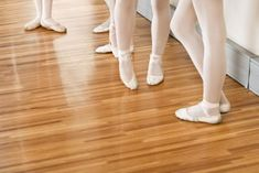 Check out this article on exercises to strengthen your feet for dancing. Some creative ideas in there!