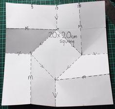 triangle fold card