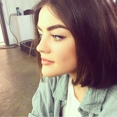 Perfect brows on Lucy Hale. | Pretty Little Liars