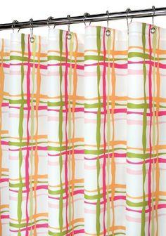Park B. Smith Wavy Plaid Shower Curtain, Tangelo by Park B. Smith, http://www.amazon.com/dp/B003YFHH9A/ref=cm_sw_r_pi_dp_VgFrrb09QEMER