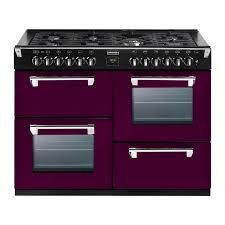 Buy Stoves Richmond Colour Boutique Dual Fuel Range Cooker in Wild Berry 444441313 from Appliances Direct - the UK's leading online appliance specialist Foyers, Wok, Dual Fuel Range Cookers, Stoves Cookers, Sliding Shelves, Thing 1, Electric Oven, Stove Fireplace, Kitchens