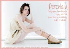 Porcelain- By Emma Pilkington. www.kit-magazine.com. Ballet Shoes, Dance Shoes, January, Topshop, Porcelain, Stylists, Magazine, Kit, Model