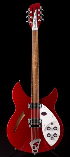RICKENBACKER 330/12 12-String in Ruby Red | Guitar Center