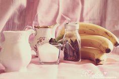 everything for banana and cinnamon icecream