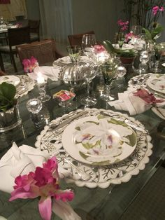 table.quenalbertini: Dinner with Orchids | Andrea Rudge