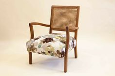 Grandma's Cane Chairs – Old to New--upholstery ideas