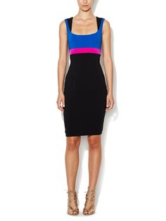 Cook Squareneck Sheath Dress by Jay Godfrey at Gilt