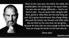 Steve Jobs the creative mind of a dyslexic!