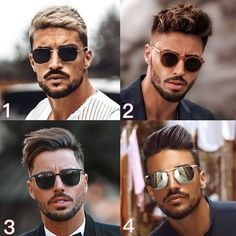 "Men's Hairstyle Goals's Instagram post: ""Which one? Comment below 👇 Follow @menshairstylegoals 💯 . . #menstagram #suit #handsome #stylish #malemodel #guys #gq #mensfashionreview…"" Wig Styles, Beard Styles, Short Hair Styles, Teen Boy Haircuts, Haircuts For Men, Top Hairstyles, Hair Videos, Hair Goals, Male Models"