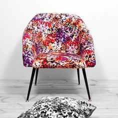fotel muszelka ewa Reborn, Upholstered Chairs, Vera Bradley Backpack, Tub Chair, Accent Chairs, Armchair, Creations, Etsy, Pillows