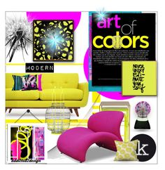 """""""..the Art of Colors...Modern Style"""" by addicted2design ❤ liked on Polyvore"""