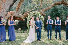 Laura + Adrian's Wedding Ceremony - Audley Dance Hall