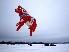 Siljan, Dalarna, Sweden - dala hot air balloon