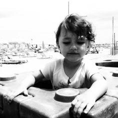 Sister at the sea