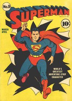 Superman on paper by Stanley Kaye, courtesy of Merredith Lowe. Superman © DC Comics, Inc. Marvel Comics, Ms Marvel, Action Comics, Captain Marvel, Poster Marvel, Conan Comics, Marvel Logo, Marvel Avengers, Captain America