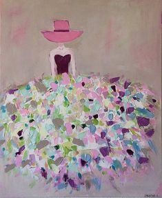 Wal Art, Cactus Painting, Easy Paintings, Blogger Themes, Fashion Sketches, Figurative Art, Pastel Colors, Girl Room, Canvas Art