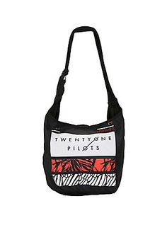 Twenty One Pilots Rectangles Hobo Bag,