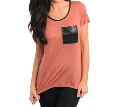 Elle Ware Fashion Top $13.50 *Additional colors available