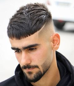 Trending Hairstyles For Men, Cool Hairstyles For Men, Haircuts For Men, Men's Hairstyles, Hair And Beard Styles, Short Hair Styles, Buzz Cut For Men, Barber Haircuts, Hair Shears