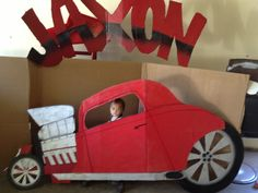Hot rod For birthday party pictures