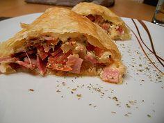 Schinken - Tomaten - Mozzarella - Strudel