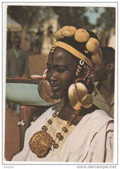 Jeune Femme Peulh , éd Africa Dakar , Photo Renaudeau, Neuve - Senegal