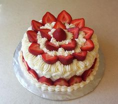 Excellent Decoration Ideas For Strawberry Cake Decoration