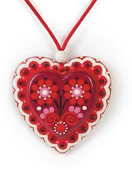 Hand painted Wooden Necklace http://pinterest.com/hartists/boards/