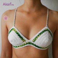 Bikini cross top back
