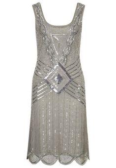 ANTHENA - Cocktailkleid / festliches Kleid - grey