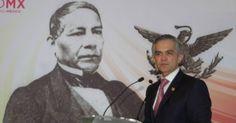 Benito Juárez, presidente vitalicio de México: Mancera
