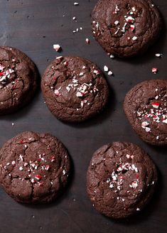 Double-Chocolate Peppermint Cookies
