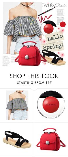 """""""TwinkleDeals"""" by gaby-mil ❤ liked on Polyvore featuring Elizabeth Arden, Dollup Beauty and twinkledeals"""