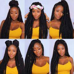 Ways To Wear Box Braids Ideas different ways to wear braids cute hairyomi Ways To Wear Box Braids. Here is Ways To Wear Box Braids Ideas for you. Ways To Wear Box Braids most craved designs box braids hairstyles box braids o. Crochet Twist Hairstyles, Crochet Hair Styles, Braided Hairstyles, Hairdos, Hairstyles For Box Braids, Protective Hairstyles, Crochet Twist Styles, Hairstyle Braid, Hairstyle Short