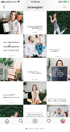 The most popular theme, Tile theme. You can create a really efective look with alternative posts being text based in your branding colours. This is the format that we (On Point Designs) use. Instagram Design, Instagram Blog, Layout Do Instagram, Instagram Feed Ideas Posts, Coach Instagram, Instagram Grid, Instagram Fashion, Instagram Themes Ideas, Ig Feed Ideas