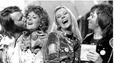 Abba - Sweden, winner of the Eurovision Song Contest 1974