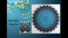Mandala Amarins haken 100 cm Crochet Mandala, Filet Crochet, Crochet Doilies, Dream Catcher, Sewing, Diy, Youtube, Made By Hands, Mandalas