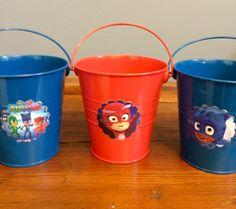 PJ Masks party favor tins