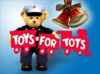 Lake Elsinore, CA - Dec. 12, 2015: Toys for Tots motorcycle Ride.