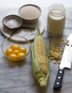 Sweet Corn Creme Brulee