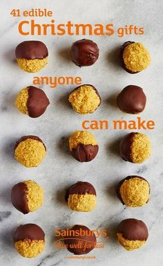 Nothing says Merry Christmas like a delicious edible gift. Homemade treats make the best presents, especially when they're really tasty. Give a loved one golden milk turmeric truffles, Christmas chocolate bark, gin and tonic marshmallows or some creamy Christmas fudge. Check out our 41 recipes and make the perfect edible gift.