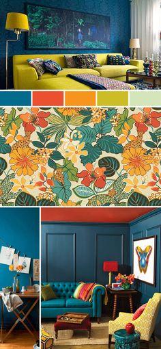 Beautiful color scheme by The Happy Heathen