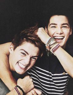 Jack and Finn Harries.....Aw...I love Jack and Finn!!