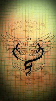 Corpsman tattoo idea by Hargroovy on DeviantArt Body Art Tattoos, New Tattoos, I Tattoo, Tattoos For Guys, Cool Tattoos, Awesome Tattoos, Tatoos, Navy Marine, Navy Military